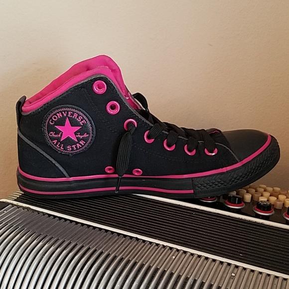 Converse Shoes | Converse Black Pink